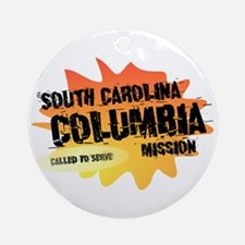 South Carolina Columbia Missi Ornament (Round)