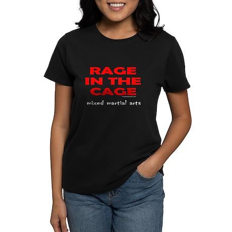 CAGE FIGHTING Women's Dark T-Shirt