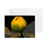 Lily thank you note Greeting Cards (10 Pack)