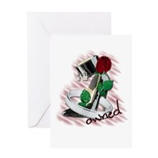 ownedshoe Greeting Cards