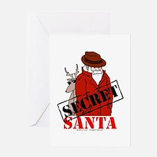 Secret Santa Greeting Card