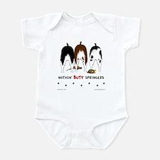 Nothin' Butt Springers Infant Bodysuit
