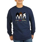 Nothin' Butt Springers Long Sleeve Dark T-Shirt