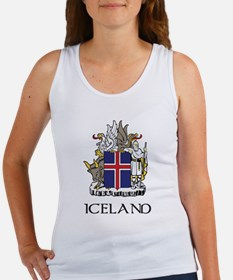 Iceland Coat of Arms Women's Tank Top