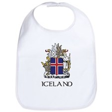 Iceland Coat of Arms Bib
