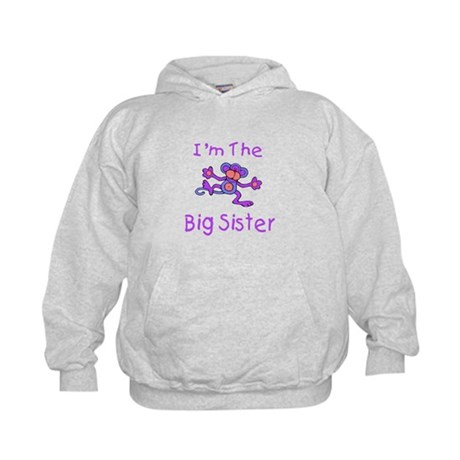 Im The Big Sister - Dancing M Kids Hoodie