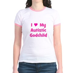 I Love My Autistic Godchild T