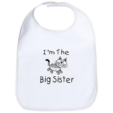 I'm The Big Sister - Cat Bib