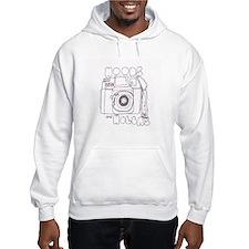 hoods & holgas hooded sweatshirt
