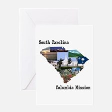 South Carolina Columbia Missi Greeting Card
