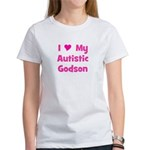 I Love My Autistic Godson Women's T-Shirt
