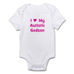 I Love My Autistic Godson Infant Bodysuit