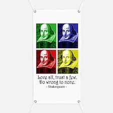 Pop Art Shakespeare Banner