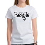 Rescued My Beagle Women's T-Shirt