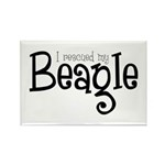 Rescued My Beagle Rectangle Magnet (100 pack)