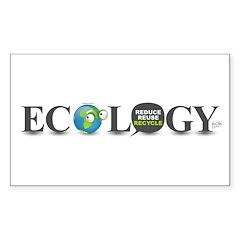 Ecology Rectangle Sticker 10 pk)