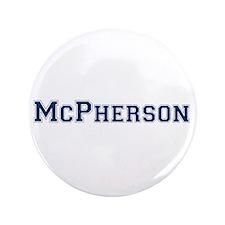 "McPherson Last Name Varsity 3.5"" Button (100 pack)"