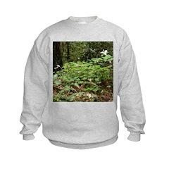 Redwood Forest Flowers Sweatshirt