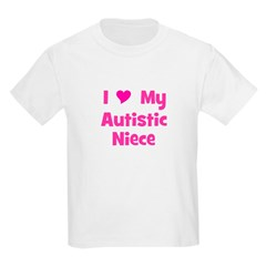 I Love My Autistic Niece T-Shirt
