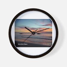 Sunrise in Biao Wall Clock