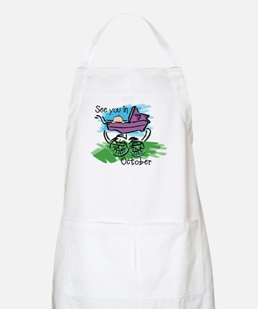 See You In October BBQ Apron