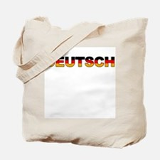 """Deutsch"" Tote Bag"