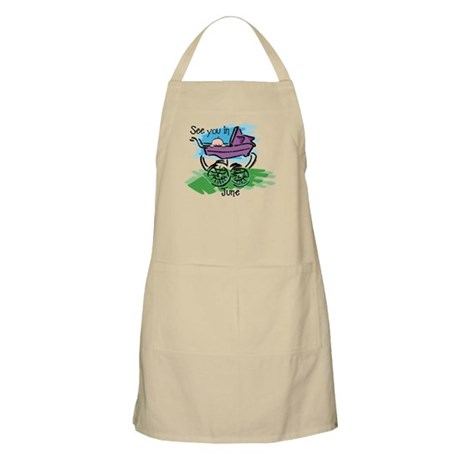 See You In June BBQ Apron