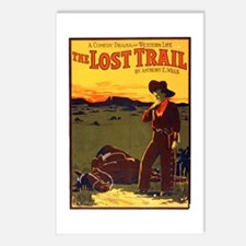 The Lost Trail Postcards (Package of 8)