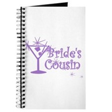 Purp C Martini Bride's Cousin Journal