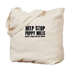Puppy Mills Tote Bag