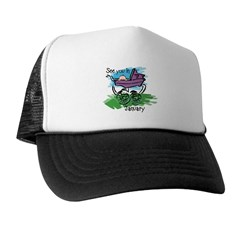 See You In January Trucker Hat