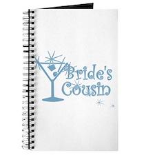 Blue C Martini Bride's Cousin Journal