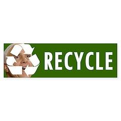 Recycle Bumper Bumper Sticker
