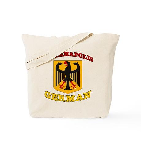 Indianapolis German Tote Bag
