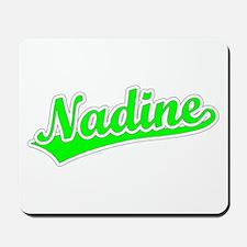 Retro Nadine (Green) Mousepad