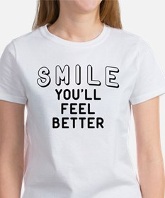 Smile You'll Feel Be Tee