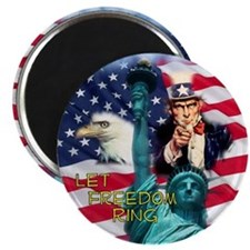 Let Freedom Ring Magnet