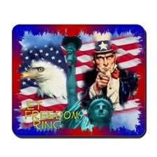 Let Freedom Ring Mousepad