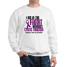 In The Fight Against CF 1 (Grandson) Sweatshirt