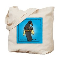 BT Weiner Mom and Pup Tote Bag