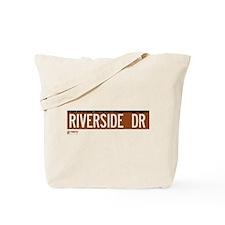 Riverside Drive in NY Tote Bag