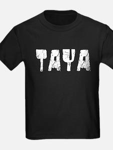 Taya Faded (Silver) T