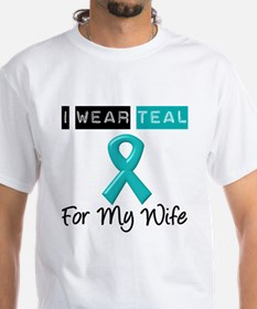 I Wear Teal Wife v2 Shirt
