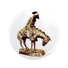 "Man on a horse 3.5"" Button"