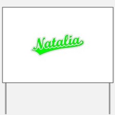Retro Natalia (Green) Yard Sign