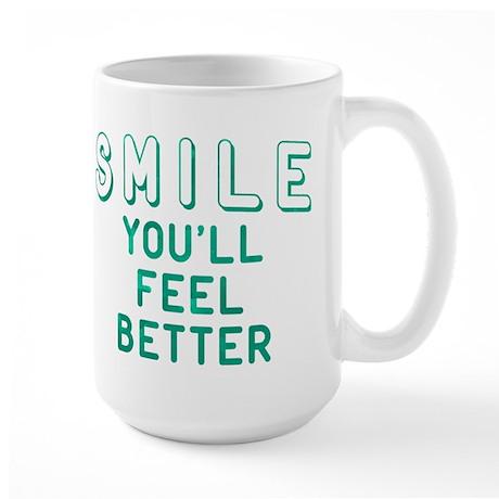 Smile You'll Feel Better Mug
