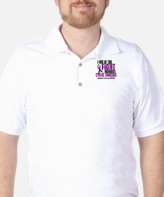 In The Fight Against CF 1 (Mother) Golf Shirt