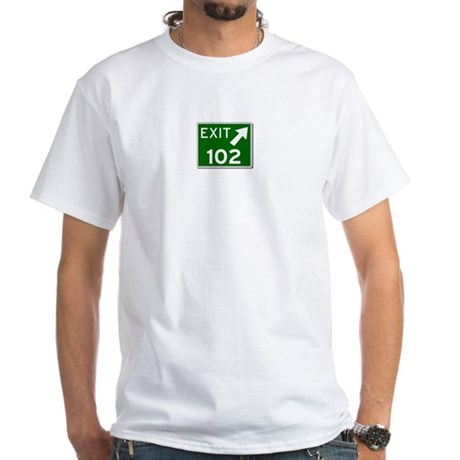 EXIT 102 White T-Shirt