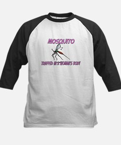 Mosquito Trapped In A Woman's Body Kids Baseball J