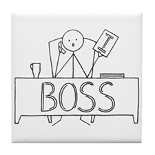 I Boss Tile Coaster